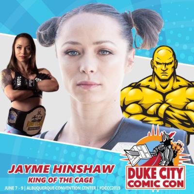 Jayme Hinshaw KOTC Champion